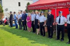 Zawody sporotwo-pożarnicze jednostek Ochotniczych Straży Pożarnych - zaproszeni goście
